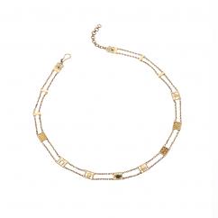 Rumuz Gold necklace