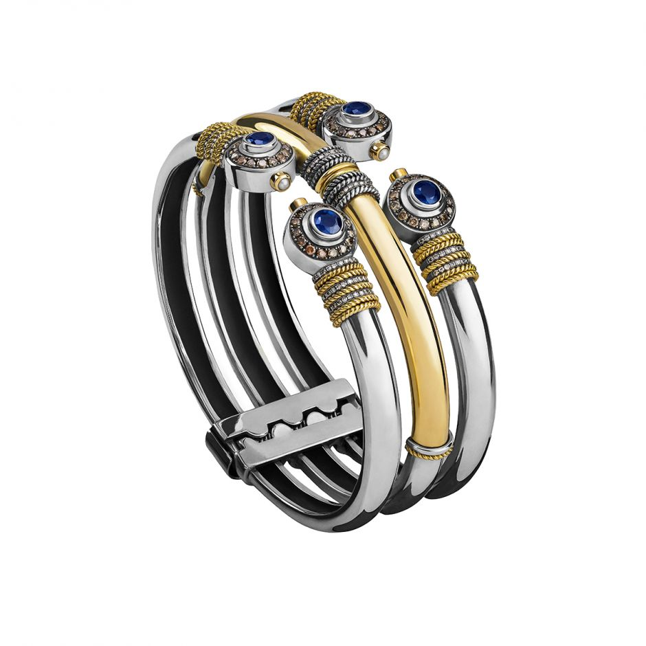 The Stacked Bangle