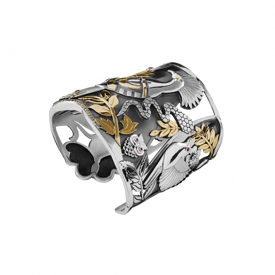 The Hoopoe Cuff