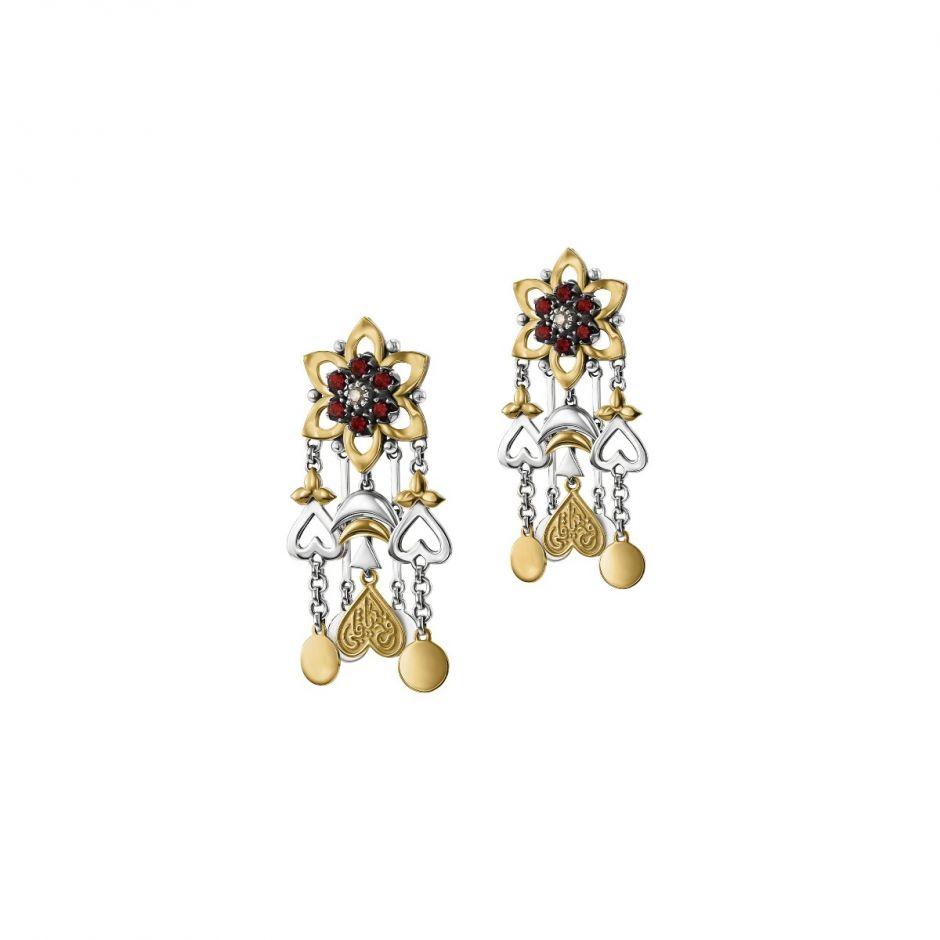 Fallahy Flower Earrings