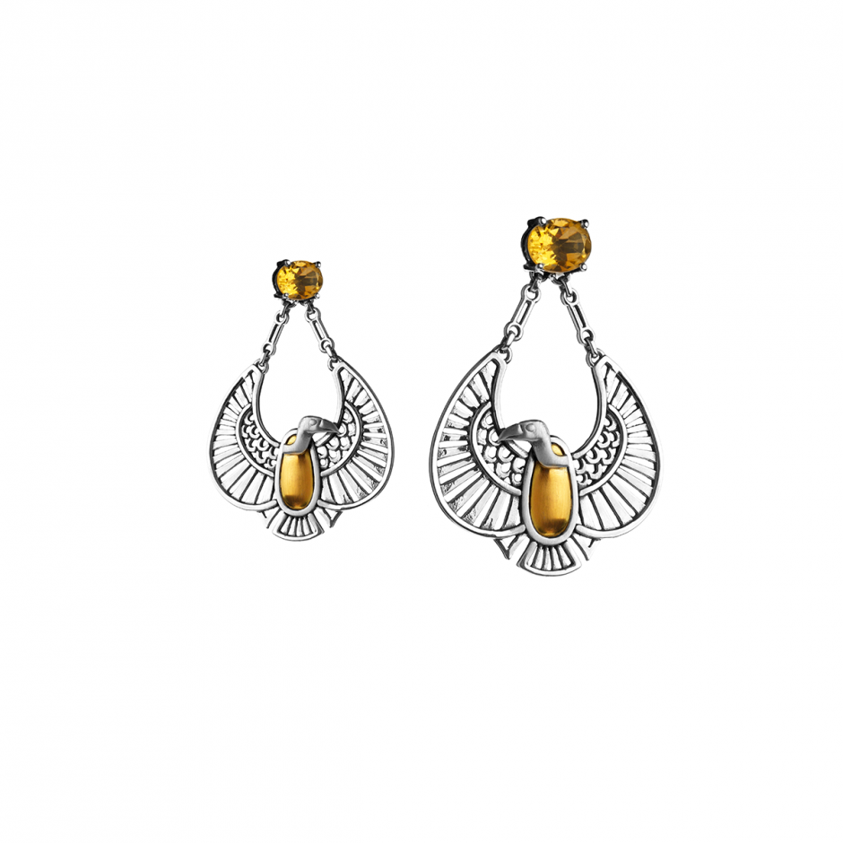 Nekhbet' Vulture Earrings