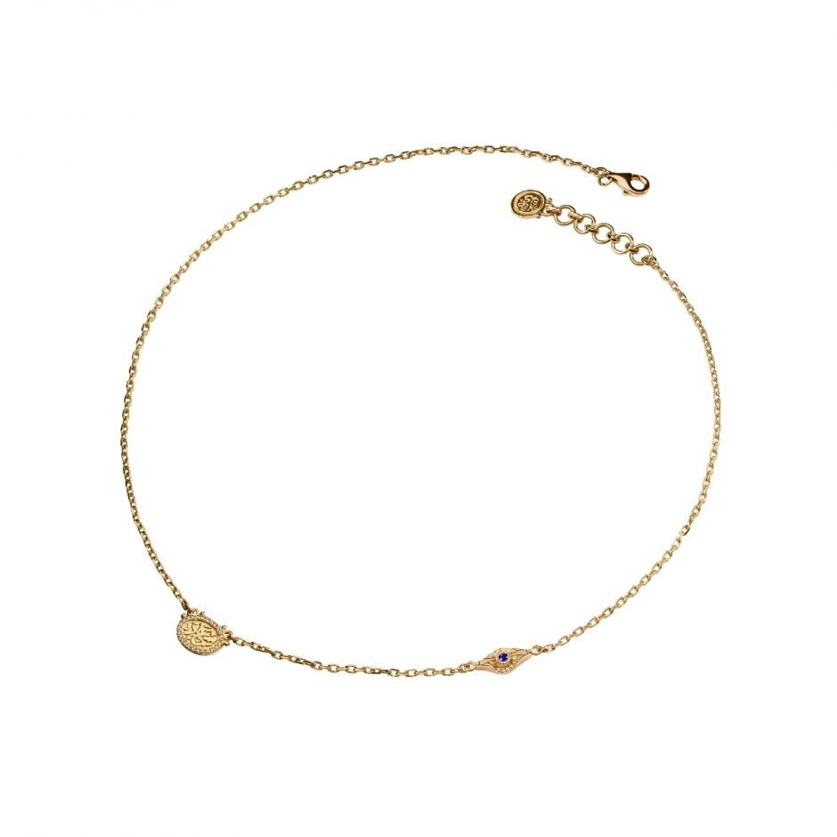 Gold Happiness Necklace