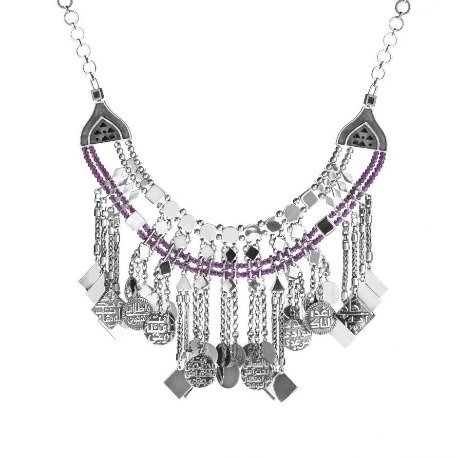 Fringe Charms Necklace