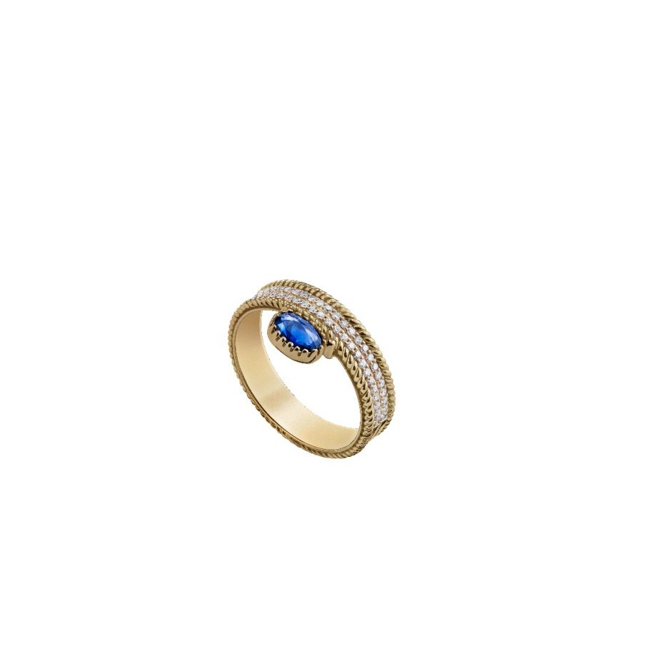 77b3fd530 Twisted Stone Ring