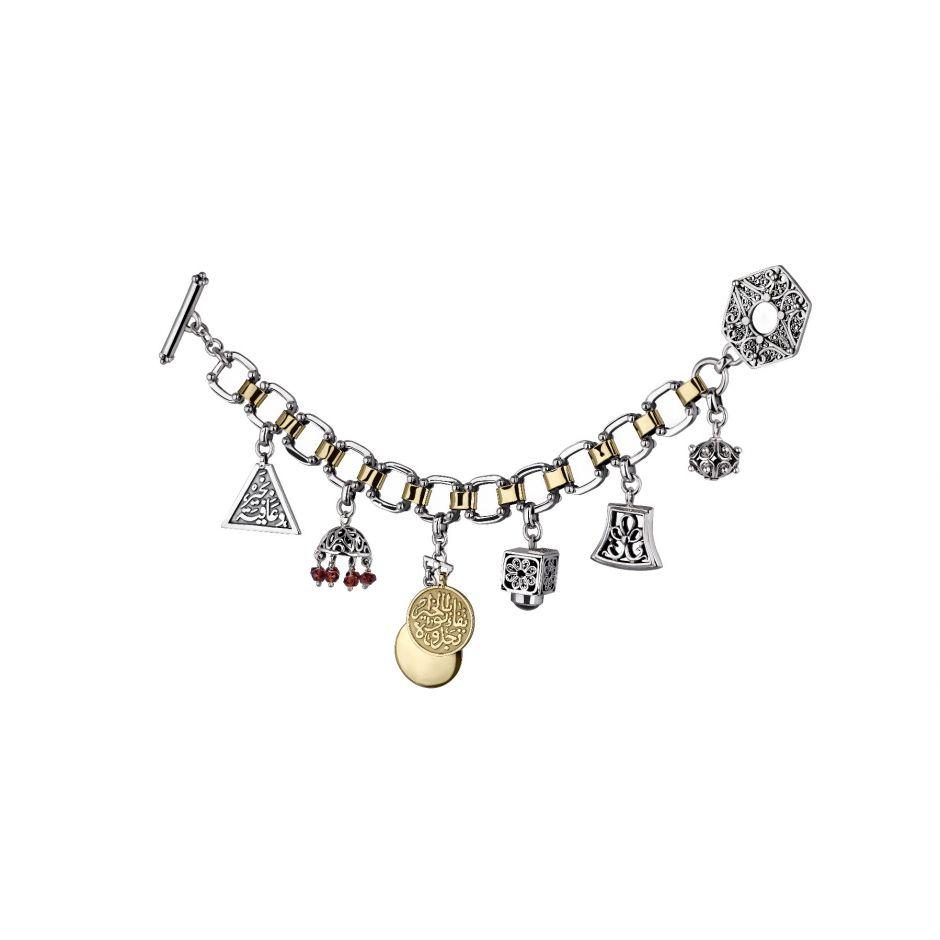 Filigree Charm Bracelet