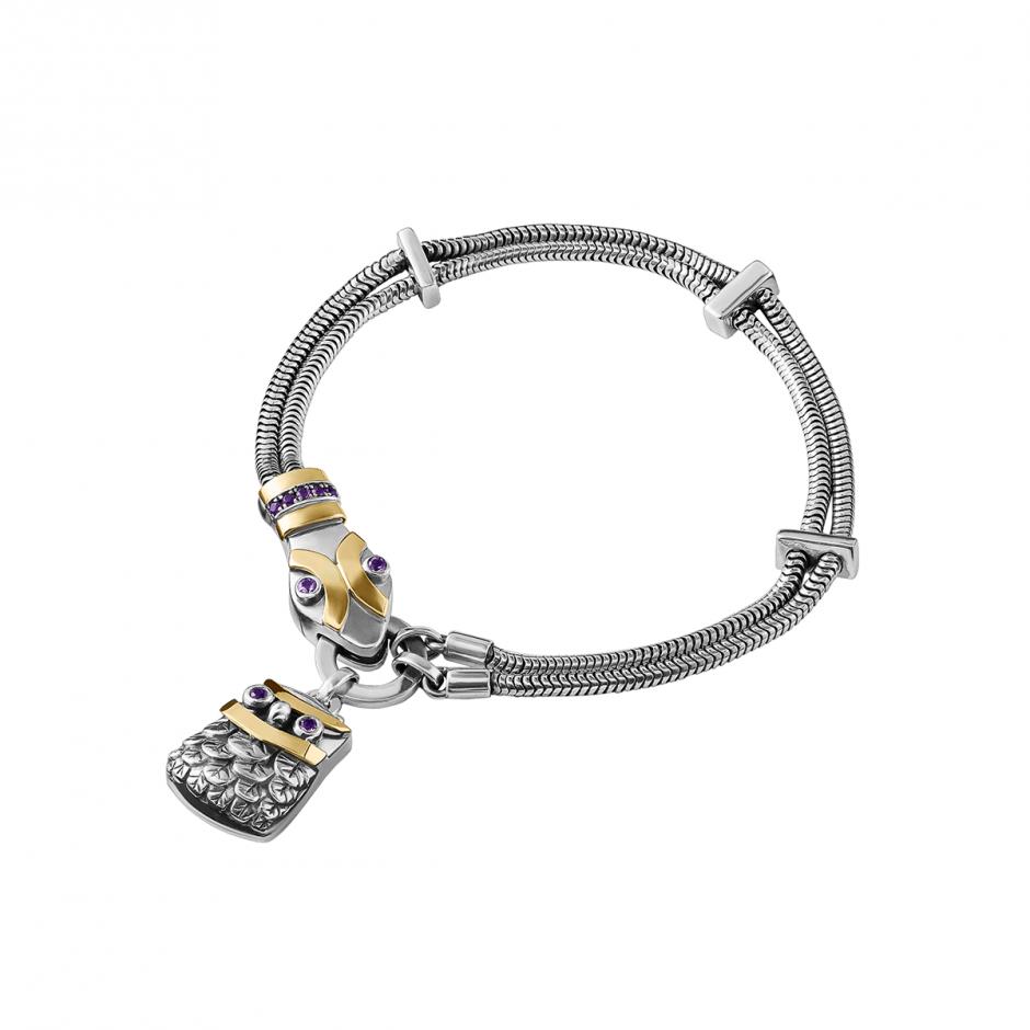 The Snake & Owl Bracelet