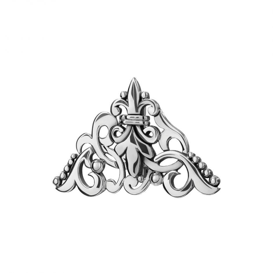 Silver Victorian Brooch