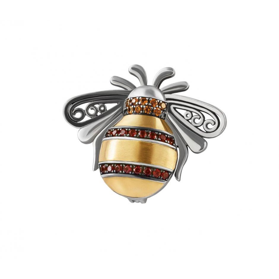 Bumblebee Broche Charm