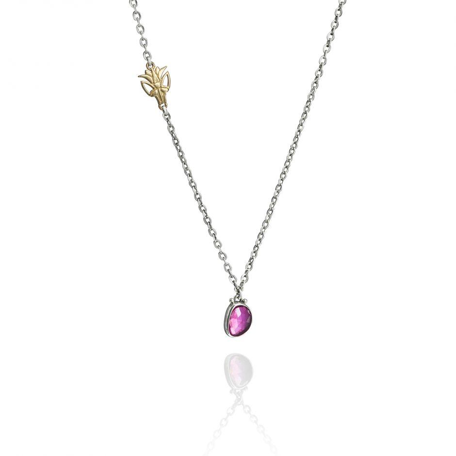 Pendant Lotus Necklace