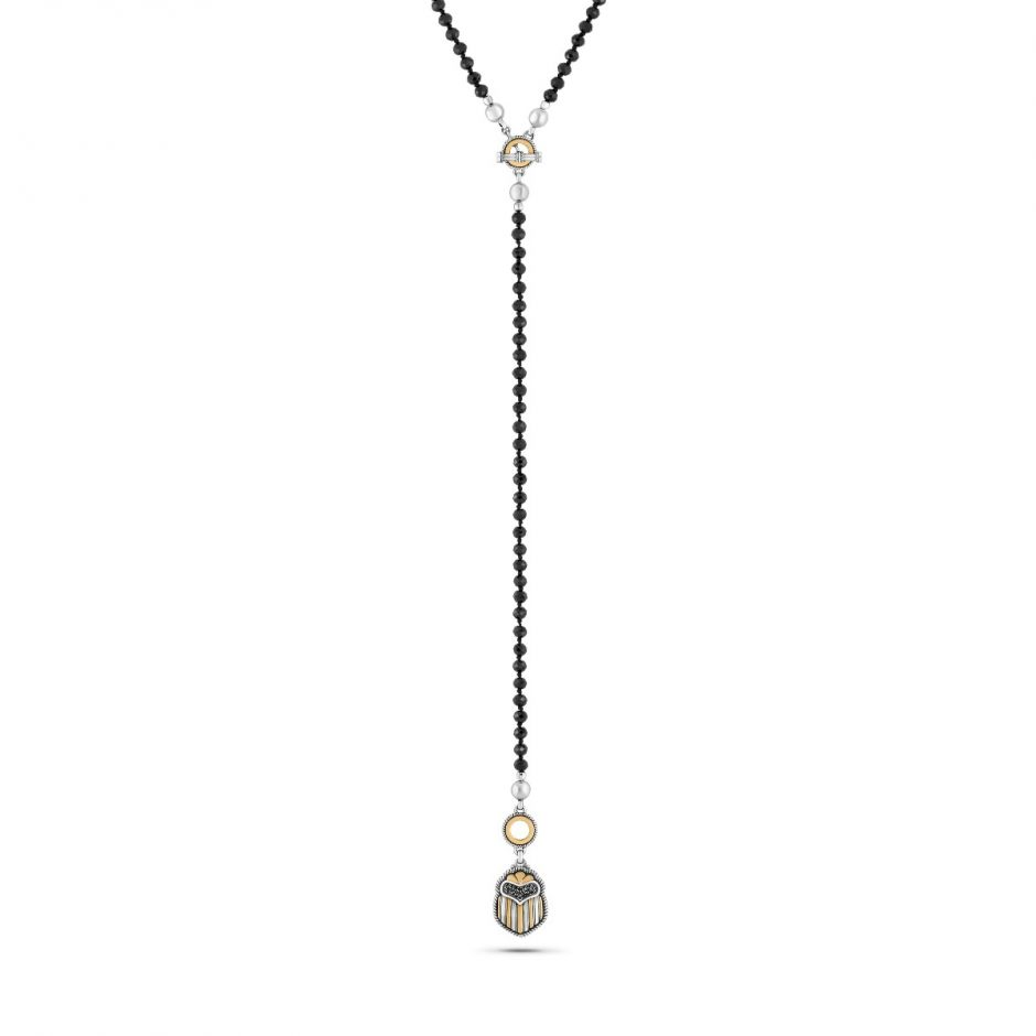 Multi-wear Scarab Necklace