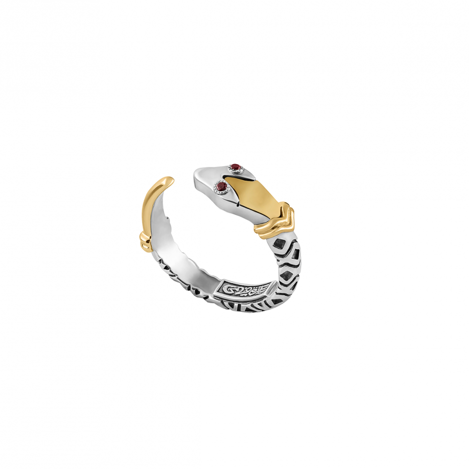 Stackable Snake Ring