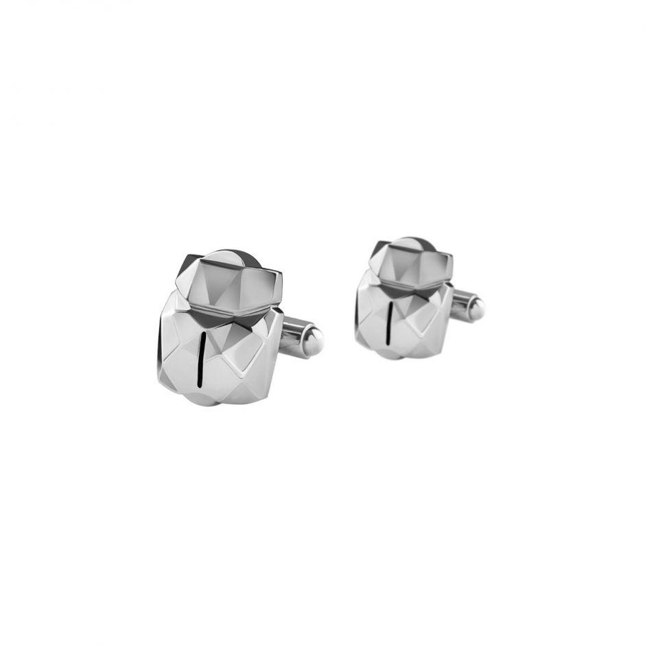 Silver Scarab Cufflinks