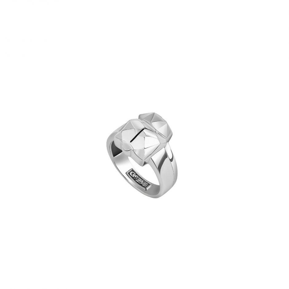 Silver Scarab Ring